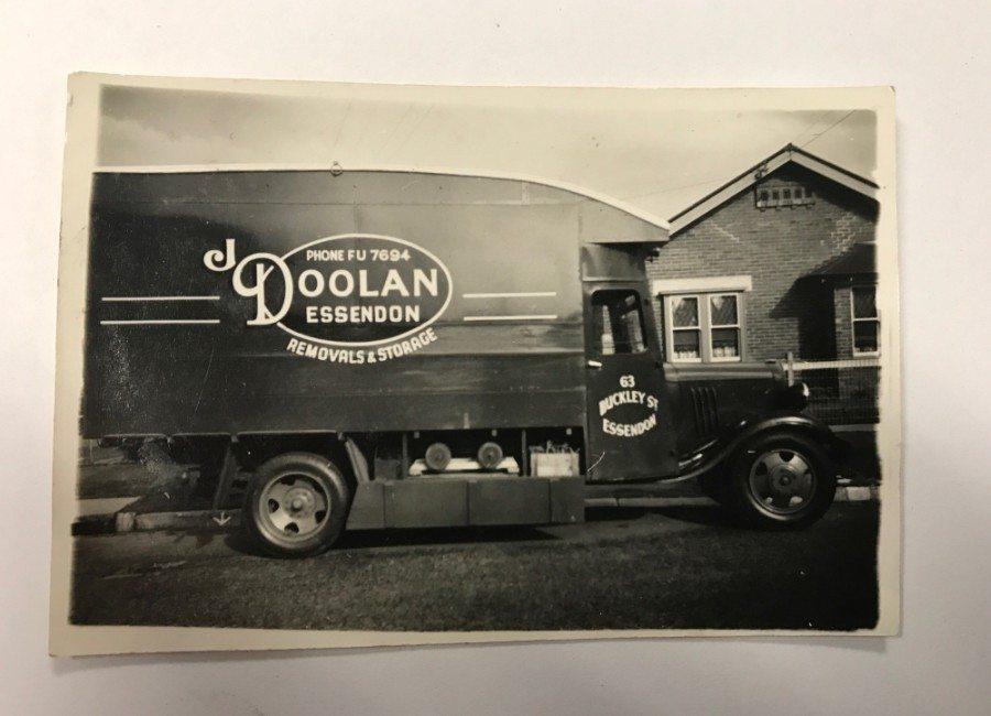 Old J Doolan truck
